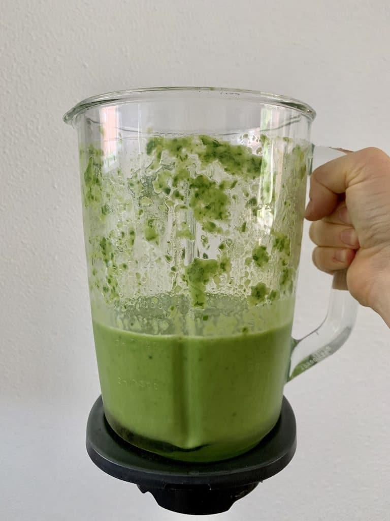 Groene smoothie blender