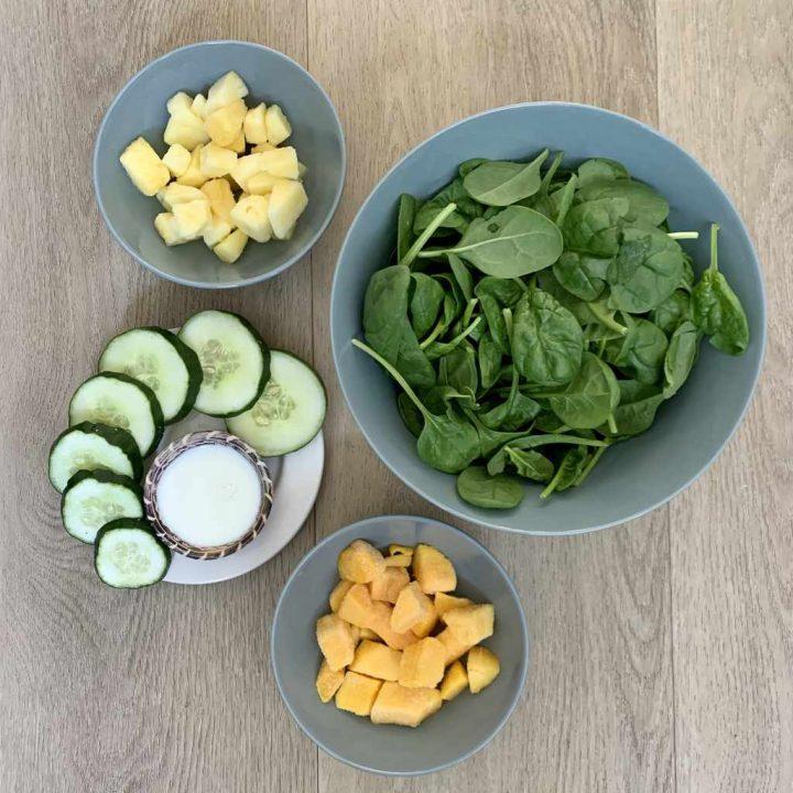 Groene smoothie ingrediënten