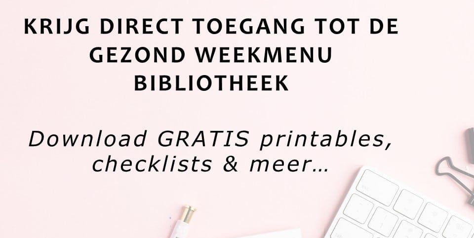 Gezond-Weekmenu-Bibliotheek