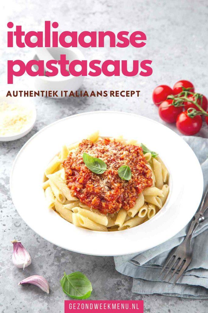 Zelf een heerlijke en authentieke Italiaanse pastasaus maken? Dit familierecept voor rode pastasaus komt rechtstreeks uit Italië! #bolognesesaus #pastasaus
